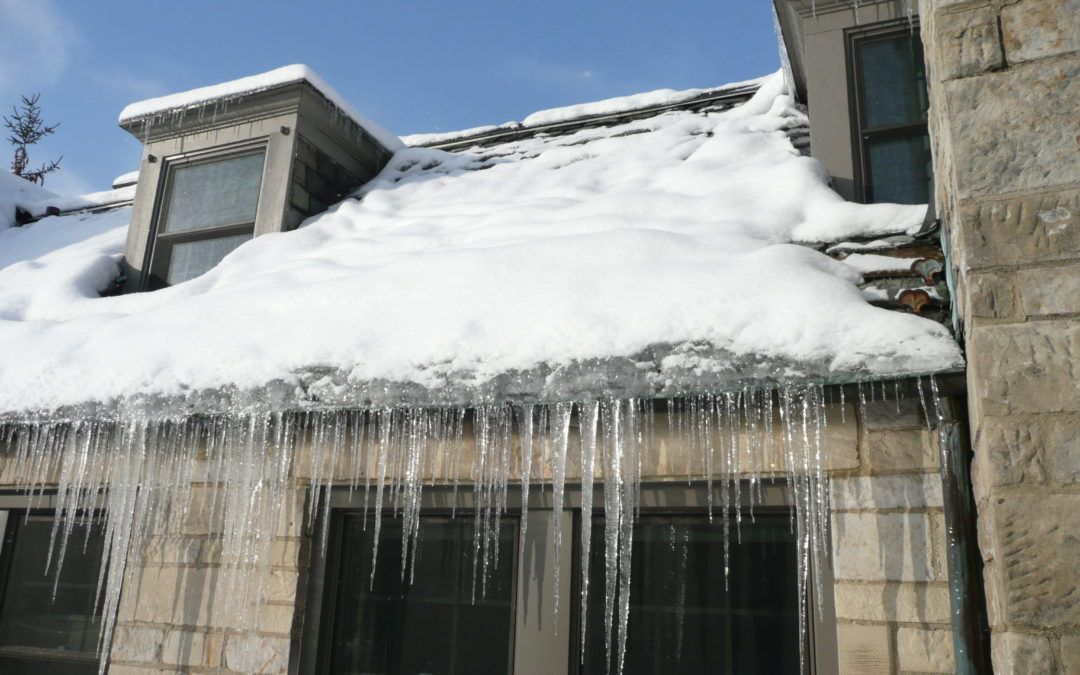 "Insulate yourself from Ice ""Dam""age with Spray Foam"